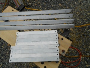 Major Parts for the Cantilever Solar Panel Mount