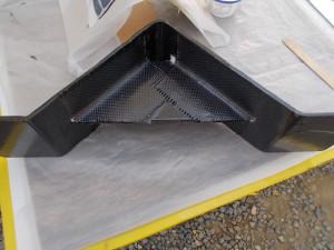 Carbon Bracket with Carbon Reinforcements