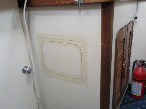 Marking cabinet for recessed Battery Switches