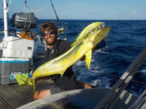1st Dorado caught